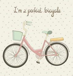 ByciclePink1 vector image