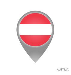 austria point vector image