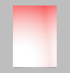geometrical halftone dot pattern page template vector image