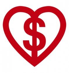love money vector image