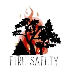 No wildfire icon vector image