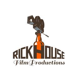 Rickhouse film productions retro vector