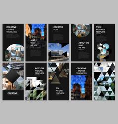 Social media design vertical banner or flyer vector