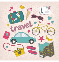 Travel vector