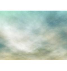 Gray skies vector image