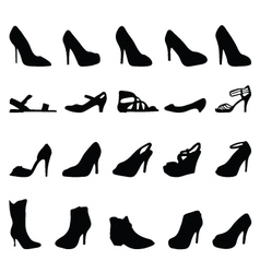 shoes 2 vector image vector image