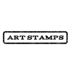 Art stamps watermark stamp vector