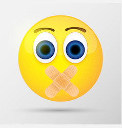 cute smiling emoticon emoji smiley vector image