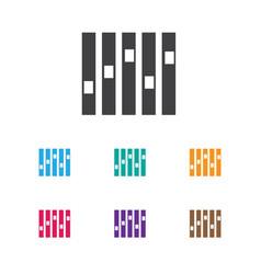 of audio symbol on sound vector image