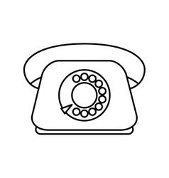 Phone icon Retro design graphic vector