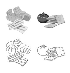 Taste and seasonin logo vector