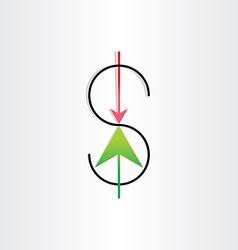 Us dollar variation money banking symbol vector