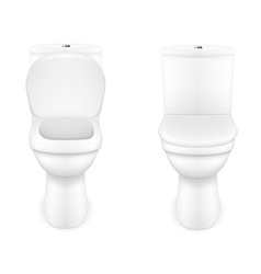 Toilet bowl 03 vector
