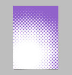 abstractal halftone dot pattern background vector image