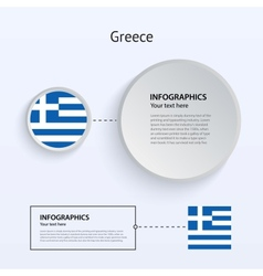 Greece Country Set of Banners vector