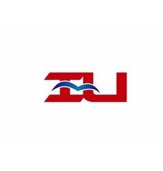 iU company logo vector image