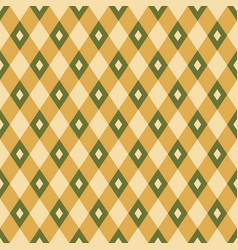 seamless geometric rhombuses pattern vector image
