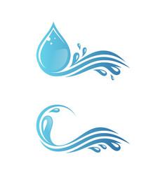Splash water vector