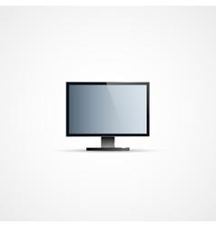 TV Flat Screen Icd vector image