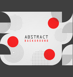 white abstract geometric business background vector image