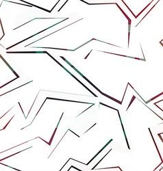 colored debris seamless pattern vector image