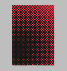 abstract halftone dot background pattern brochure vector image