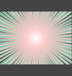 Abstract sun burst background vintage of halftone vector
