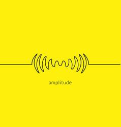 audio sound wave music waveform pulse audio vector image
