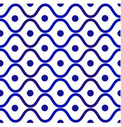Ceramic pattern design vector