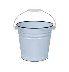 Enamel bucket vector