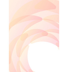 Pastel orange pink petal abstract background vector