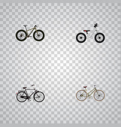 Realistic bmx for girl equilibrium and other vector