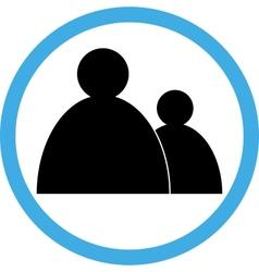 Sign circular-people vector