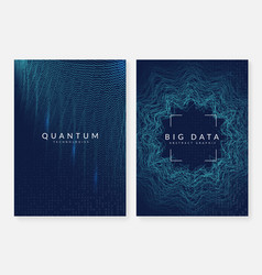 visualization background technology for big data vector image