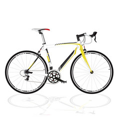 Bicycle fixed gear vector