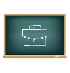 board suitcase vector image vector image