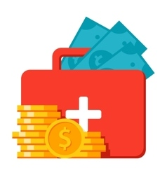 Emergency Fund Icon vector image vector image