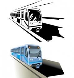 metro vector image