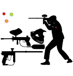 paintball vector image vector image