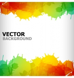 abstract blot colorful background vector image