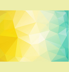 abstract polygonal background summer mosaic vector image