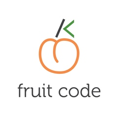 Concept fruit code vector