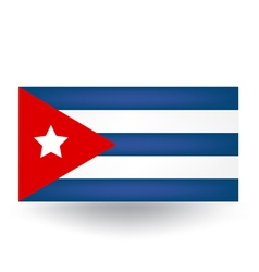 Cuban Flag vector