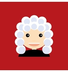 Cute Judge vector