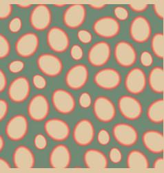 easter pattern old vector image