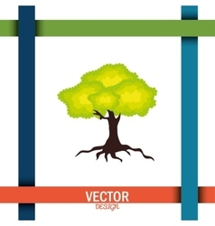 nature icon design vector image