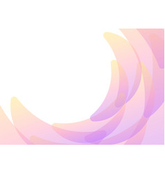 Pastel yellow pink petal abstract background vector