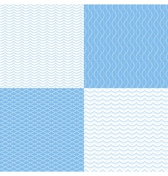 pattern dot sea vector image