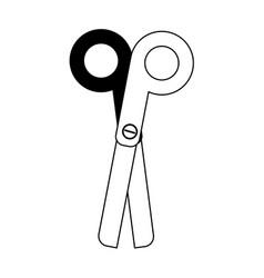 Scissors school supply icon image vector
