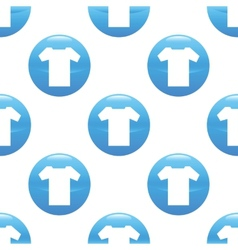 T-shirt sign pattern vector